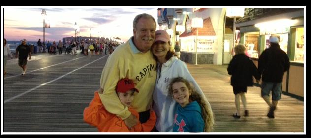 Dr. McCarrin's family