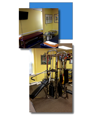As part of our services we offer an exercise room
